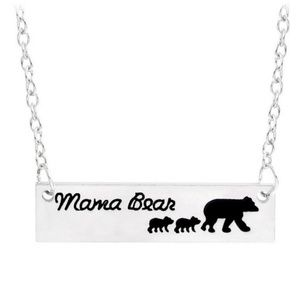 Jewelry - Mama Bear & 2 Cubs Necklace. 3/$25